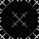 Stop Remove Exit Icon