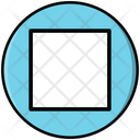 Stop Multimedia Player Icon