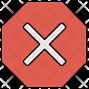 Stop Cancel Icon