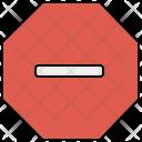 Stop Block Icon