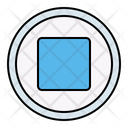 Stop Pause Button Icon