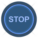 Stop Function Engine Icon