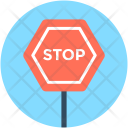 Stop Sign Warning Icon