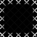 Stop Pause Block Icon