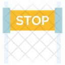 Stop Board Banner Icon