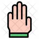 Stop Hand Hands And Gestures Icon