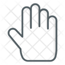 Stop Prohibition Gestures Icon
