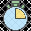 Stop Watch Chronometer Icon