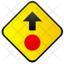 Stop ahead Icon