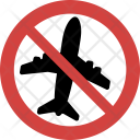 Ban Stopped Sign Icon