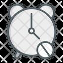 Digital Clock Electronics Table Clock Icon