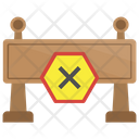 Stop Barrier Icon
