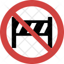 Barrier Stopped Block Icon