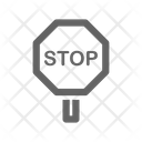Transport Road Accident Icon