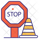 Stop Board Block Forbidden Icon