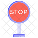Stop Warning Stop Board Stop Sign Icon