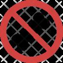 Stop Bone Icon