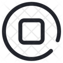 Stop Button Music Icon