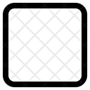 Stop Rectangle Music Rectangle Icon