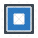 Stop Player Button Icon