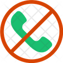 Stop Call Icon