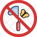 Stop Catch A Butterfly Icon