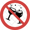 Stop Champagne toast Icon