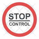 Stop Control Warning Icon
