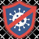 Stop Coronavirus Virus Icon