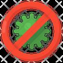 Stop Coronavirus Coronavirus Prohibition Covid Ban Icon