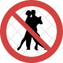 Stop Couple dance Icon