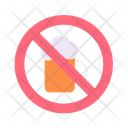Stop Drunk Drink Not Allow Drink Icon