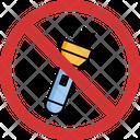 Stop Flashlight Icon