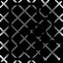 Stop Graph Icon