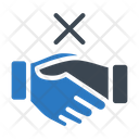 Stop Handshake Notallowed Icon
