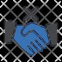 Stop Handshake Socialdistance Icon