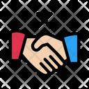 Stop Handshake Icon
