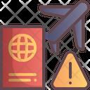 Travel International Avoid Icon