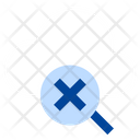 Stop Magnifying Cloud Computing Icon