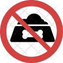 Stop Pet food Icon