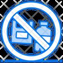 Stop Plastic Pollution Plastic Waste Plastic Ban Icon
