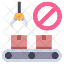 Stop production Icon