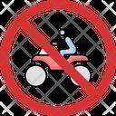 Quad Bike Quad Forbidden Icon