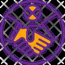 Hand Avoid Prohibited Icon