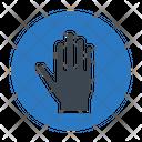 Stop Block Hand Icon