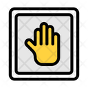 Stop Sign Stop Hand Stop Icon