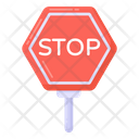 Stop Board Traffic Sign Stop Sign Icon
