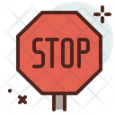 Stop Signboard Icon