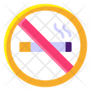 No Smoking No Cigarette Stop Smoking Icon