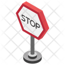 Stop Symbol Stop Board Traffic Rules Icon
